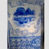 Men's washroom (detail), John Michael Kohler Arts Center, Sheboygan, WI, 1999