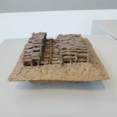 """Holding the Line"", Alfred Ceramic Art Museum, 2017, Collection Kenji Fujita and Vivian Keller"