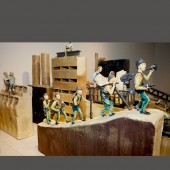 "Clay Art Center, ""Arnie Zimmerman: New Lost City,"" Nov. 2010, Port Chester, New York"